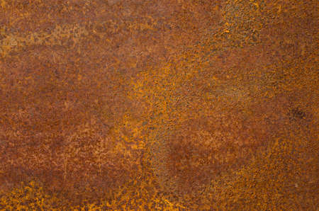 Rust on an old sheet of metal texture.