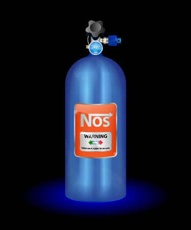 oxide:  illustration of nitrous oxide on a white background