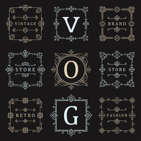 boutique hotel: plantilla de lujo situado florece caligráfico elegantes líneas ornamento. rótulo de establecimiento, símbolo, la identidad de restaurante, Royalty, Boutique, Hotel, heráldico, joyería, moda