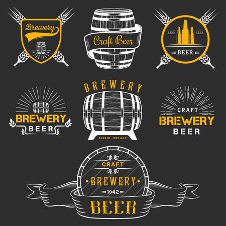 brewery: Vintage craft beer brewery