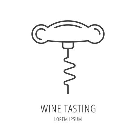 wine tasting: label Wine tasting.