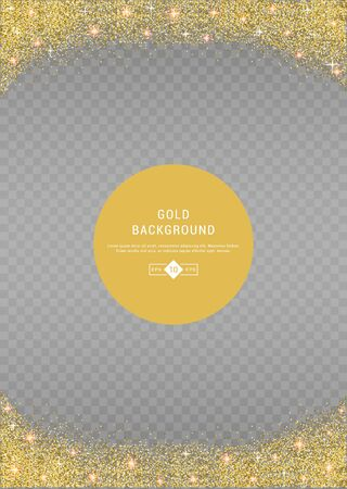 privilege: Vector banners and cards gold sparkles on black background. Gold background text. Banners voucher, store, present, shopping, sale, logo, web, card, vip, exclusive certificate gift luxury privilege Illustration