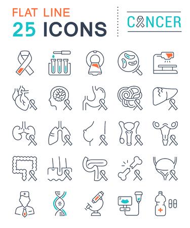 벡터 라인 아이콘, 기호 및 플랫 디자인 기호 설정 모바일 개념 및 웹 애플을위한 요소와 암. 현대 infographic 로고 및 그림을 수집합니다. 일러스트