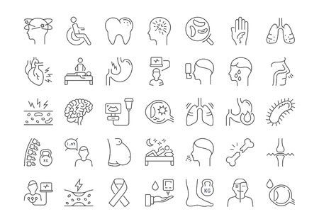 Different diseases icon.