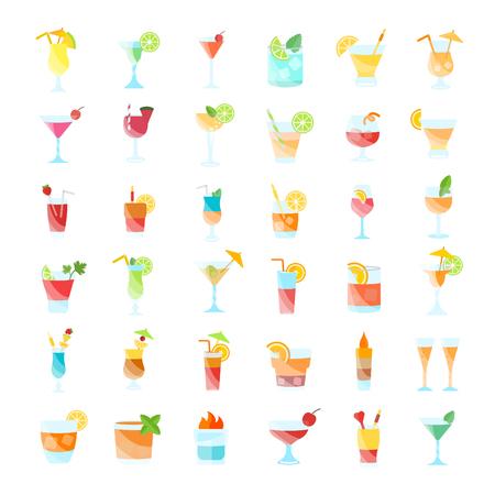 飲料のイラストセット