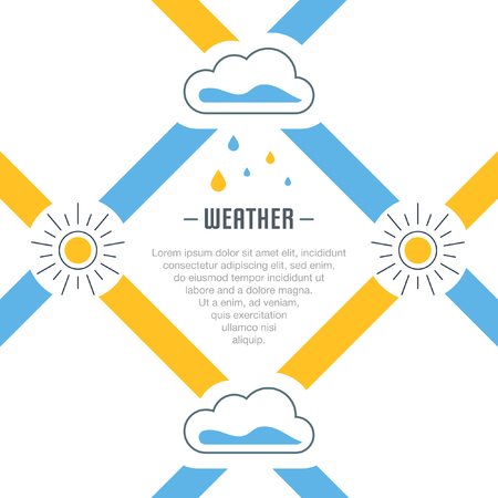 Weather Concept for web banners and printed materials