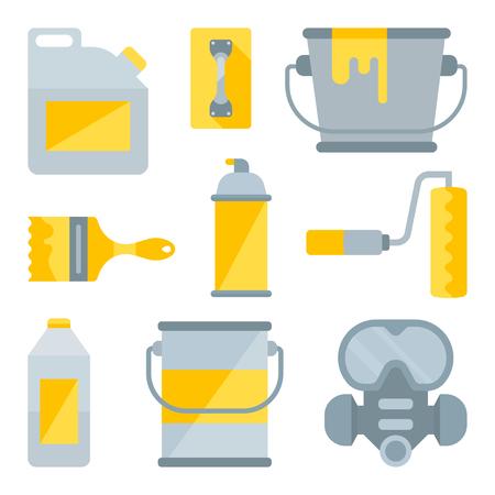 Set of tools for painting. Elements for web sites. Illusztráció