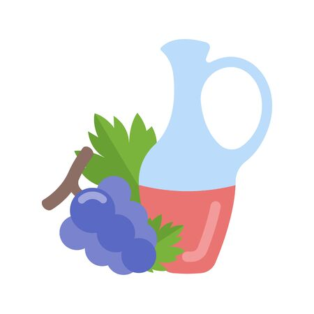 Icon in flat style. Vector illustration for food stores, websites and web applications. Vektorové ilustrace