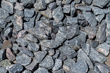 Abstract background of stone rocks on ground. Stone background.