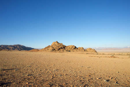 Picturesque landscape of Mongolia Stock Photo