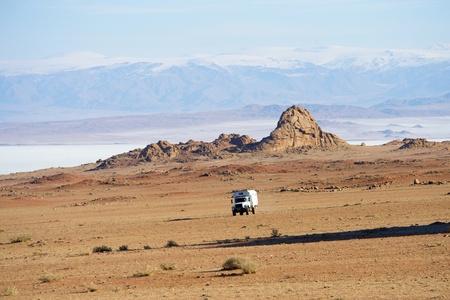 Picturesque landscape of Mongolia
