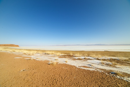 Picturesque landscape of Mongolia Stock Photo