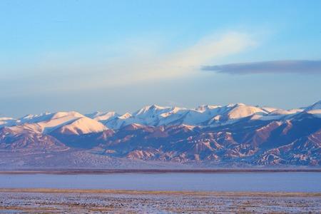 mongolia horse: Picturesque landscape of Mongolia Stock Photo