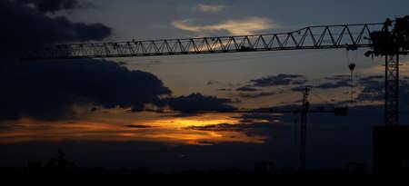 bucarest: Bucarest coucher du soleil 2