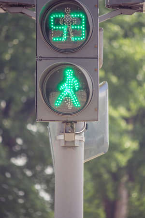 traffic lights for of people photo