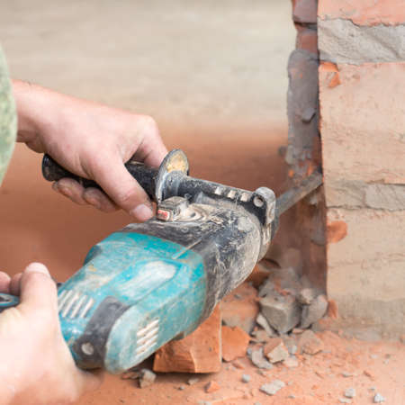 dredging tools: the puncher beat off the wall