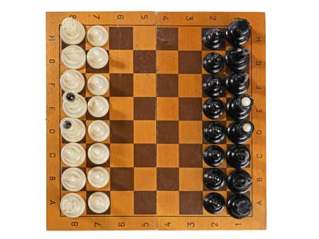 chess on a chess Board