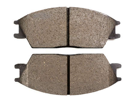 disc brake pads on a white background Imagens - 101603416