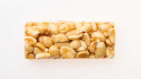peanut seeds in caramel in the form of a bar