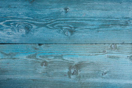 structure of sawn wood painted blue