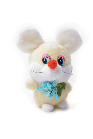 children's toy mouse symbol of the new year