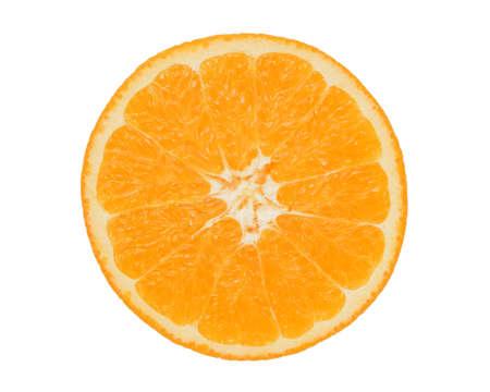 juicy slices of an orange