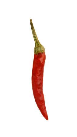 red hot pepper on white Archivio Fotografico