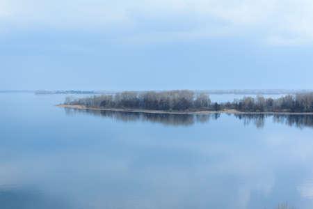 volga river: The Volga River Samara Russia wonders of nature Stock Photo