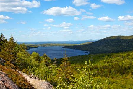 coast: Scenic view of Atlantic Coast of Maine.