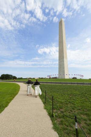 Washington Monument in the National Mall, Washington, DC photo