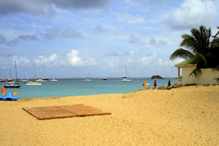 A view of the caribbean beach. Stock Photo - 13983993