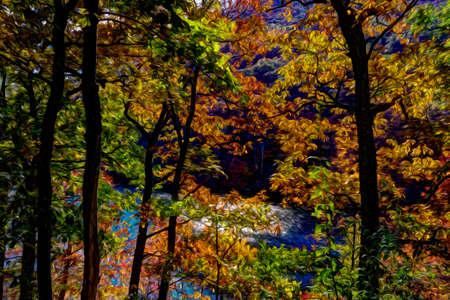arbre paysage: paysage Arbre Banque d'images