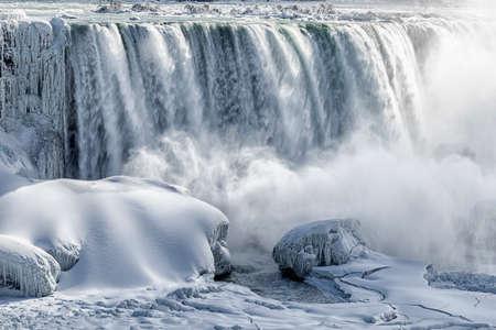 the fall: Niagara Falls Stock Photo