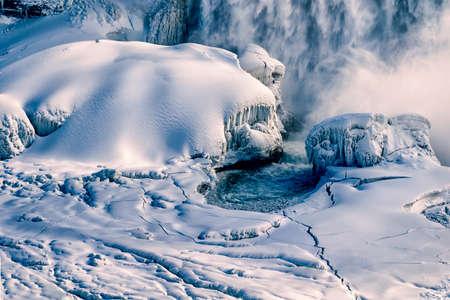 natural wonders: Niagara Falls Stock Photo