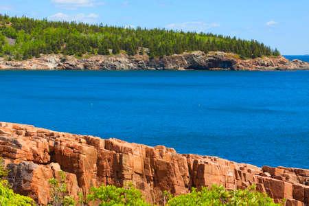 shore: Rocky shore