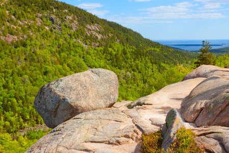 Mountainous landscape. Stock Photo