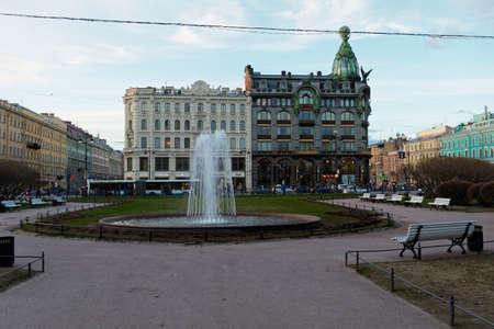 saint petersburg: SAINT PETERSBURG, RUSSIA - APRIL 22:Street views of Saint Petersburg, Russia on April 22, 2015. Editorial