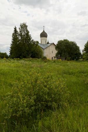 orthodox: Russian Orthodox church. Stock Photo