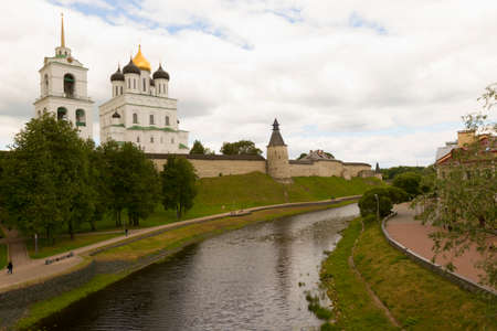 russian orthodox: Russian Orthodox church. Stock Photo