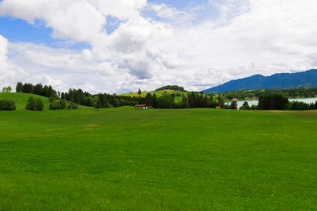 View of Bavarian Alps.