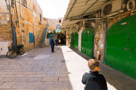 Acre, Israel-March 13, 2017:Acre is UNESCO World Heritage Site, continuously inhabited since 4000 years ago. Redakční