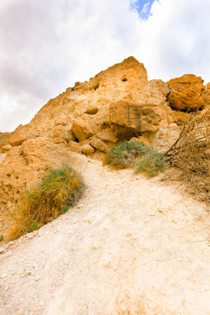Ein Gedi Nature Reserve in Israel. Stock Photo