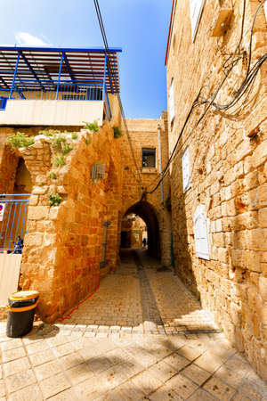Acre, Israel-March 13, 2017:Acre is UNESCO World Heritage Site, continuously inhabited since 4000 years ago. Editorial