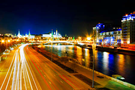 MOSCOW, RUSSIA - The Kremlin is a fortified complex at the heart of Moscow