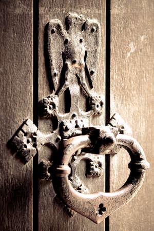 Antique door bell  photo