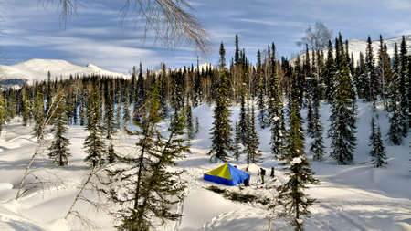 backcountry tent photo