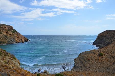 mediteranean: Sea and cliffs