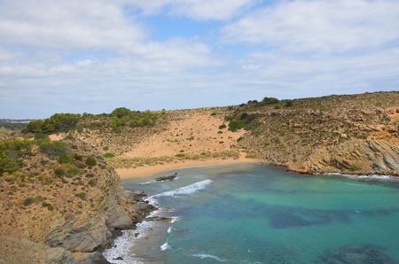 mediteranean: Beach in Spain