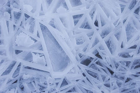 Abstract ice forms in winter Stock Photo - 15935865