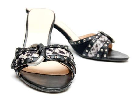 nice shoes isolated on white background Stock Photo